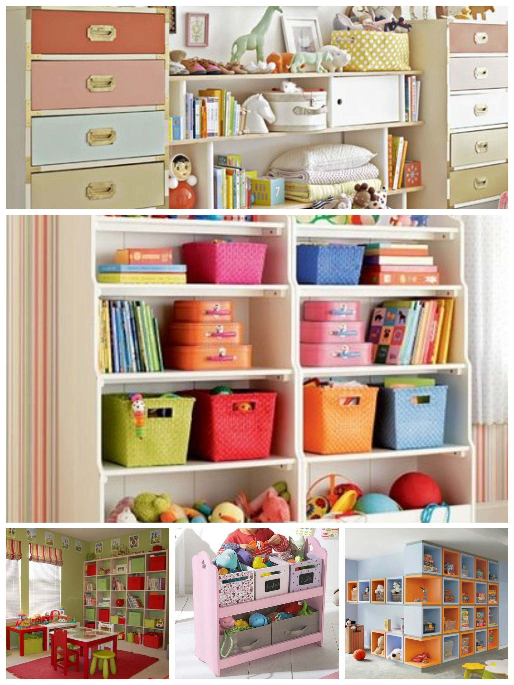 Playroom Shelving Ideas