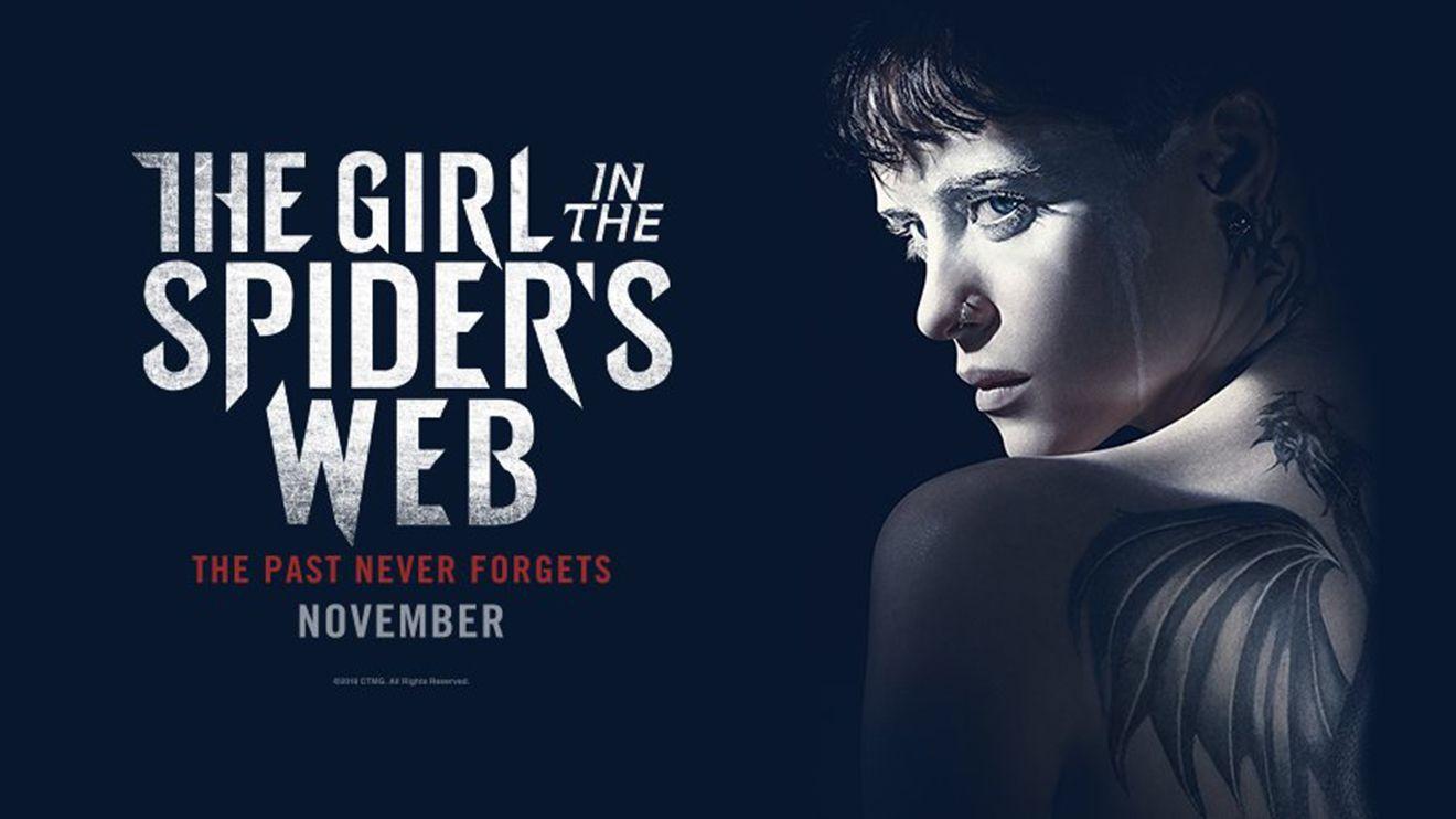 The Girl In The Spider S Web New Trailer Poster Zay Zay Com
