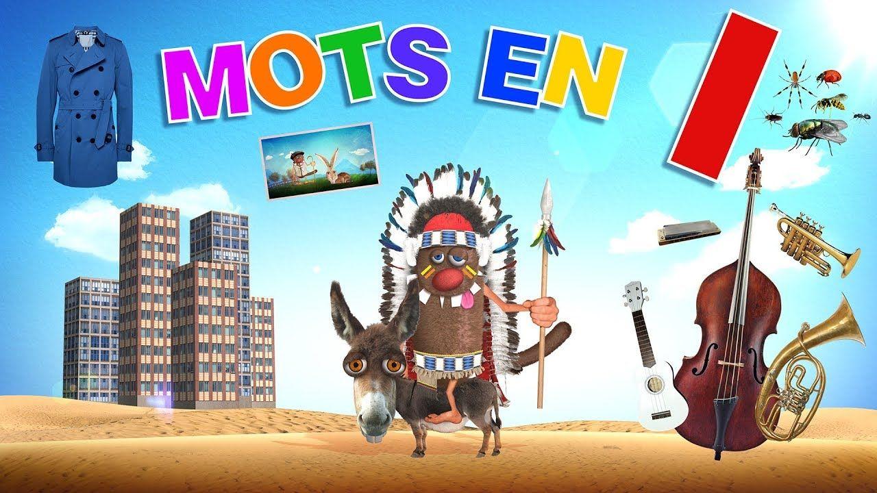 Foufou - Mots commençant par I pour les enfants (Learn words ...