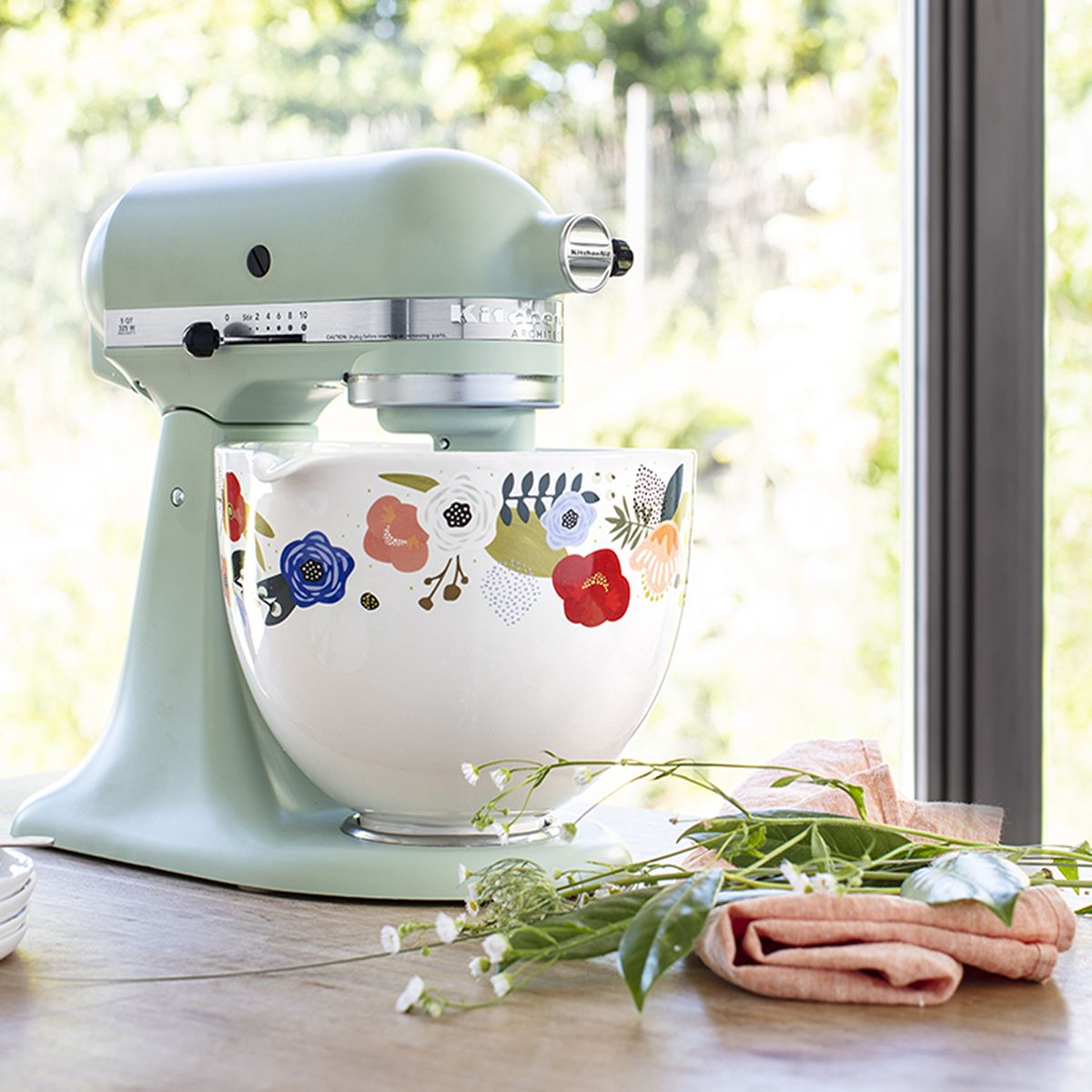 Kitchenaid is releasing patterned stand mixer bowls and we