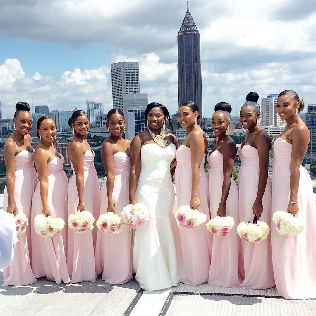 c1c265827 Black Bride, American Wedding, Wedding Bridesmaids, Wedding Goals, Wedding  Planning, Dream
