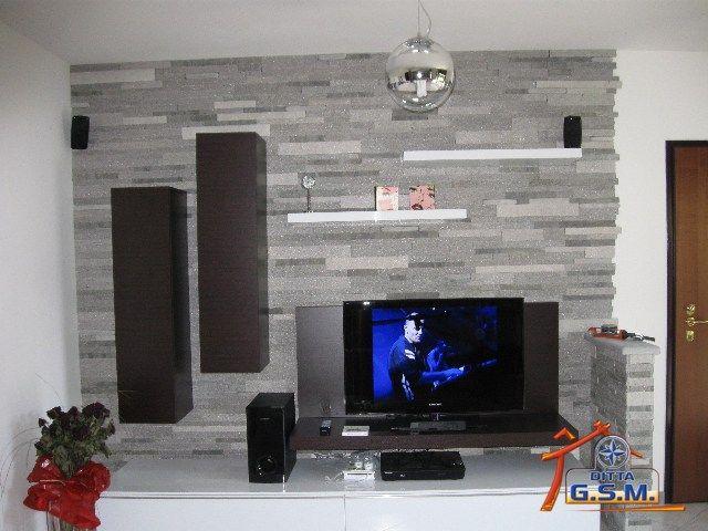 rivestimento da parete per soggiorno - Cerca con Google | idee ...
