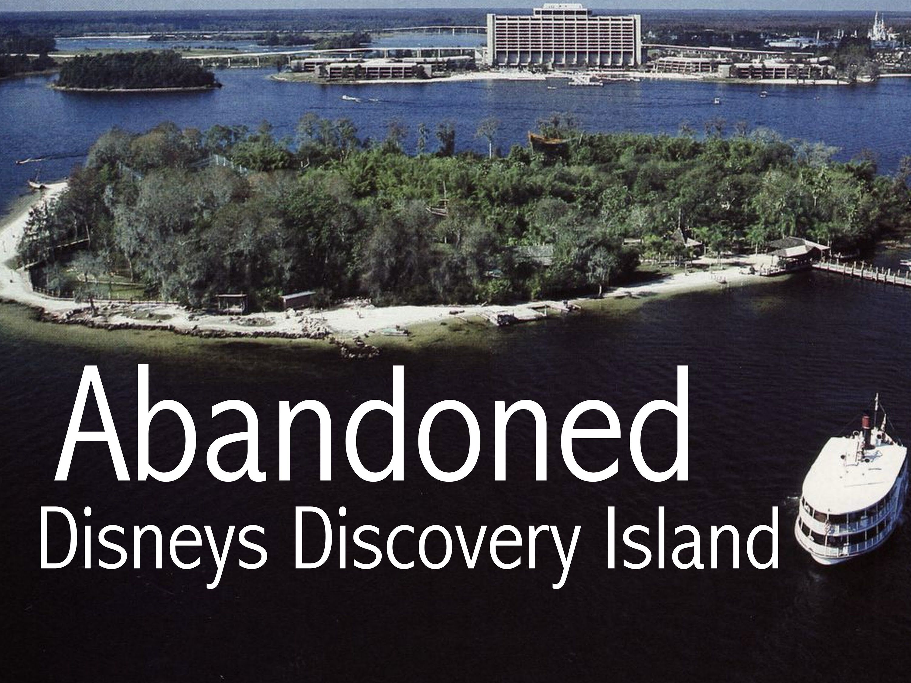 Abandoned Disneys Discovery Island Abanoned Hauntings
