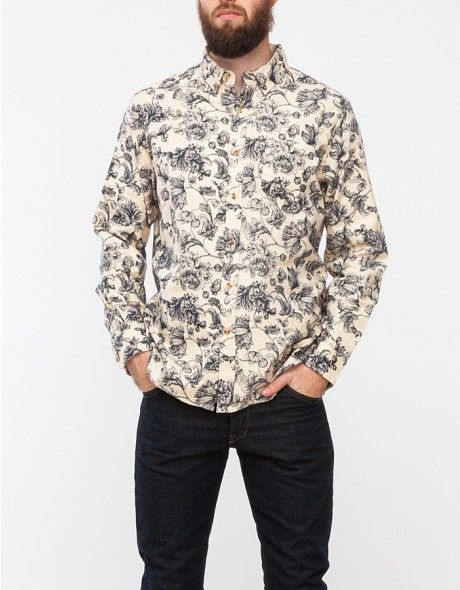 Obey / Westley Shirt in Cream