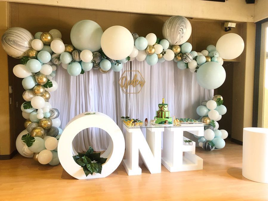 Best Balloon Party Styling Party Decoration Balloon Garland Balloon Backdrop Ballo Birthday Balloon Decorations First Birthday Balloons Balloon Decorations