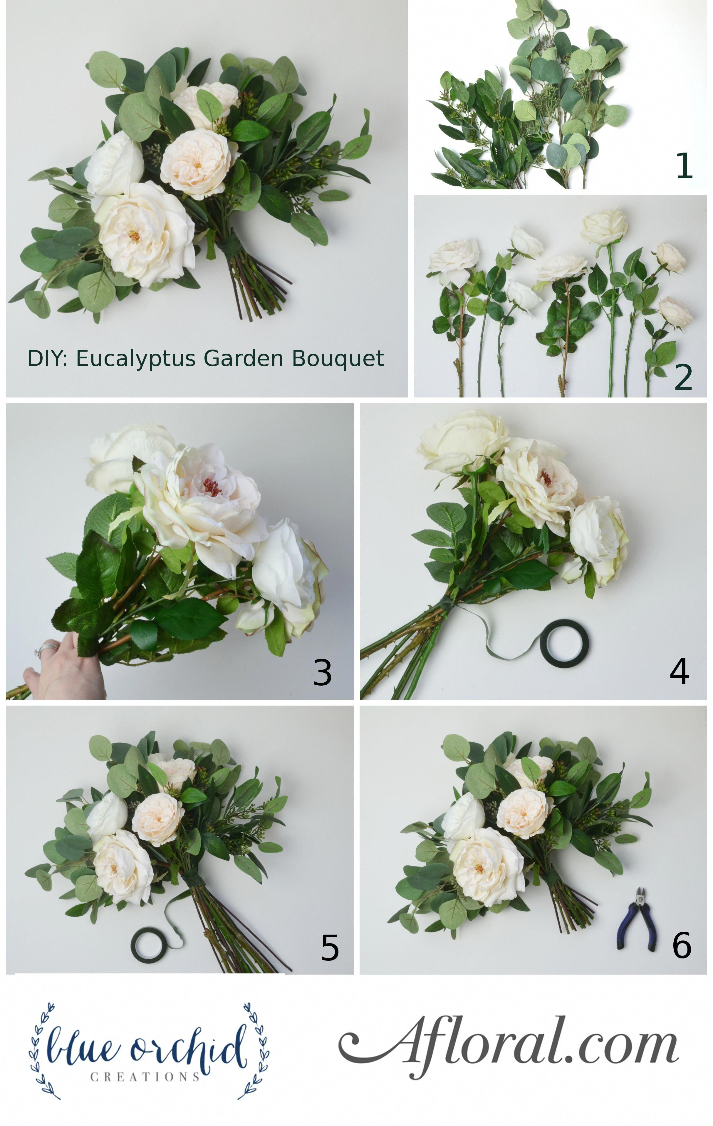 Diy wedding decorations vintage october 2018 DIY Eucalyptus Bouquet in   Wedding Planning  Pinterest