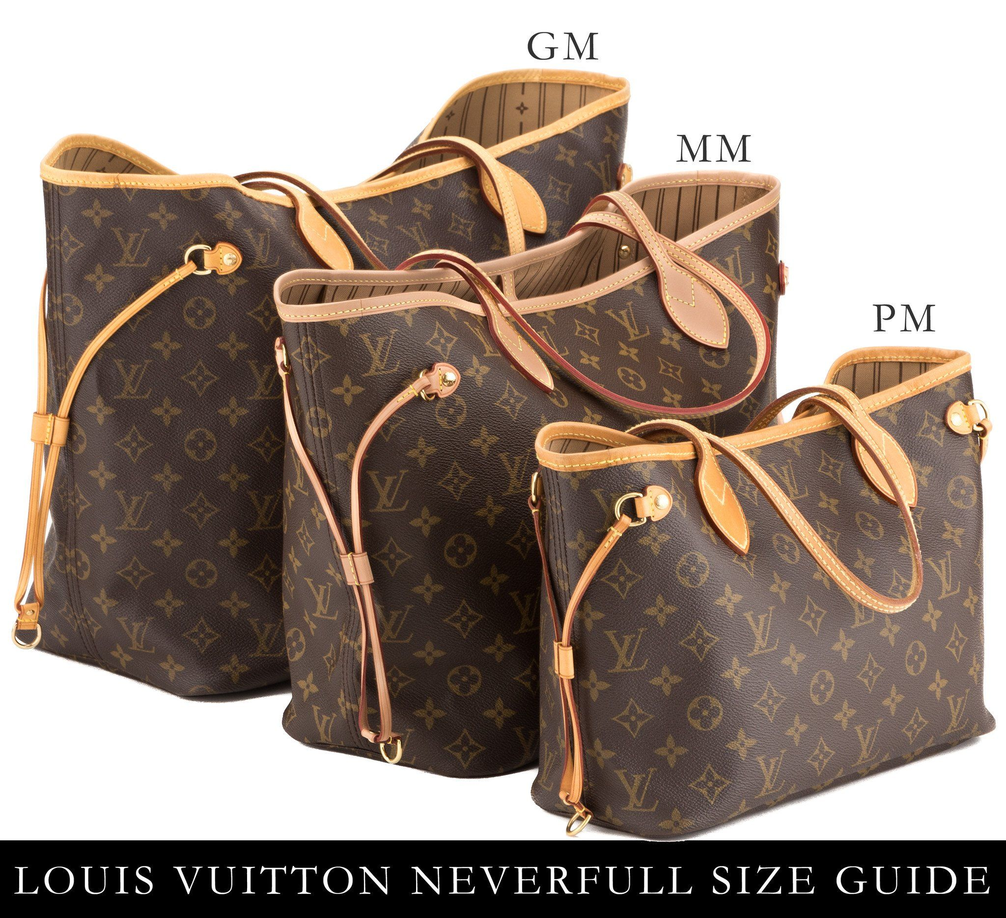 Image Result For Measurements Louis Vuitton Neverfull Gm Style