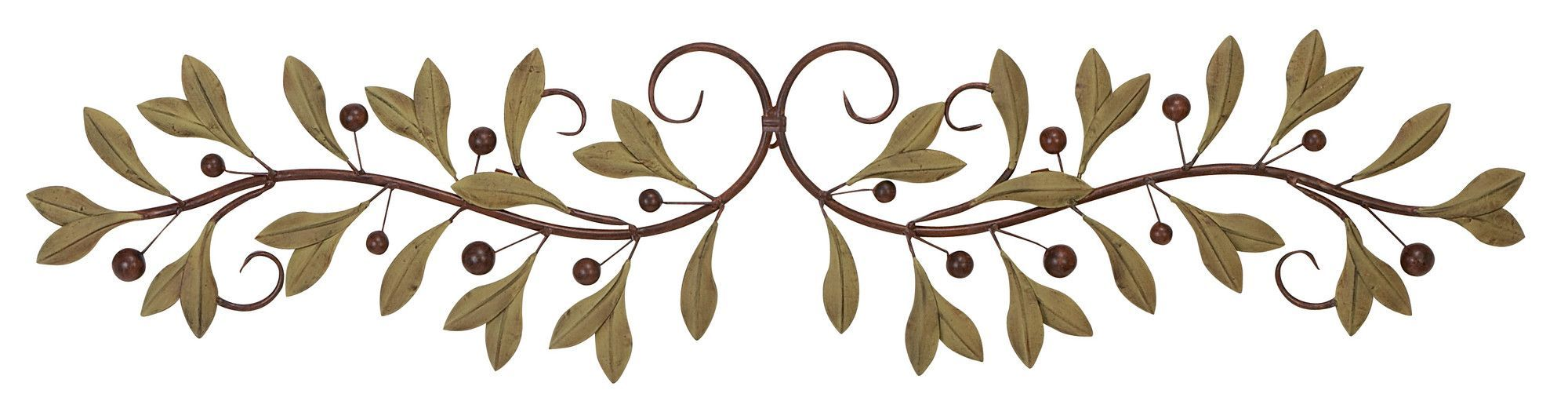 Budding Olive Branch Wall Décor Products Decor