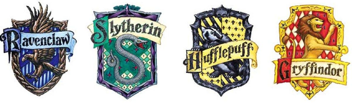 This is a graphic of Printable Hogwarts House Crests pertaining to realistic