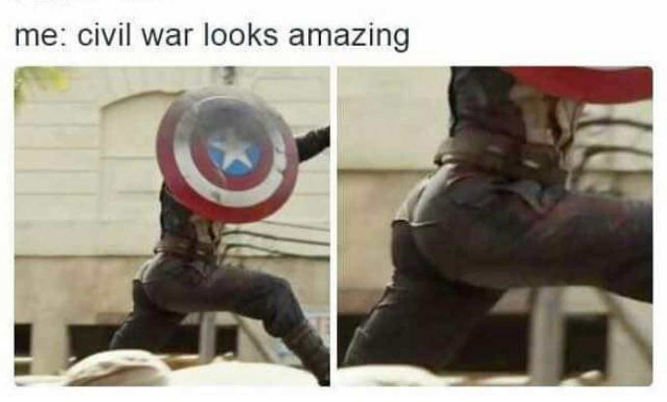 Captain america ass google search superhero breakout