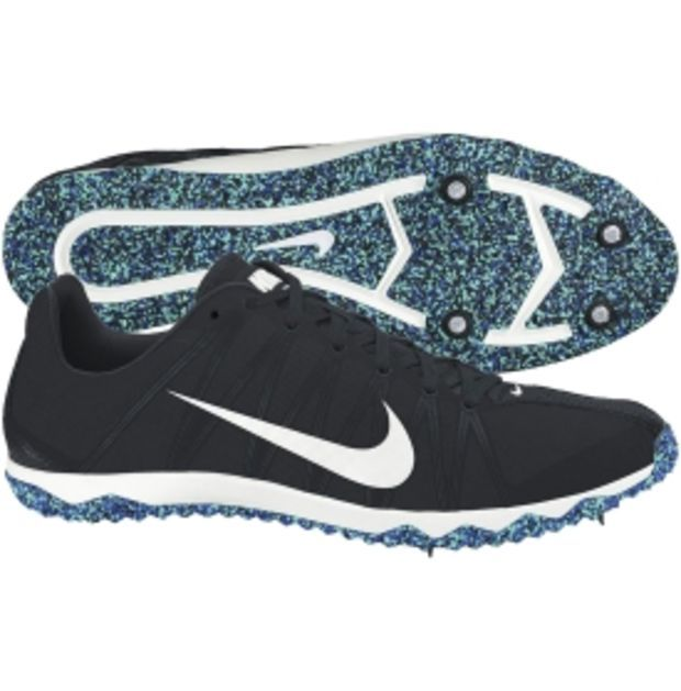 Nike Women s Zoom Rival XC Track and Field Shoe - Black Gray ... 1783b1d58