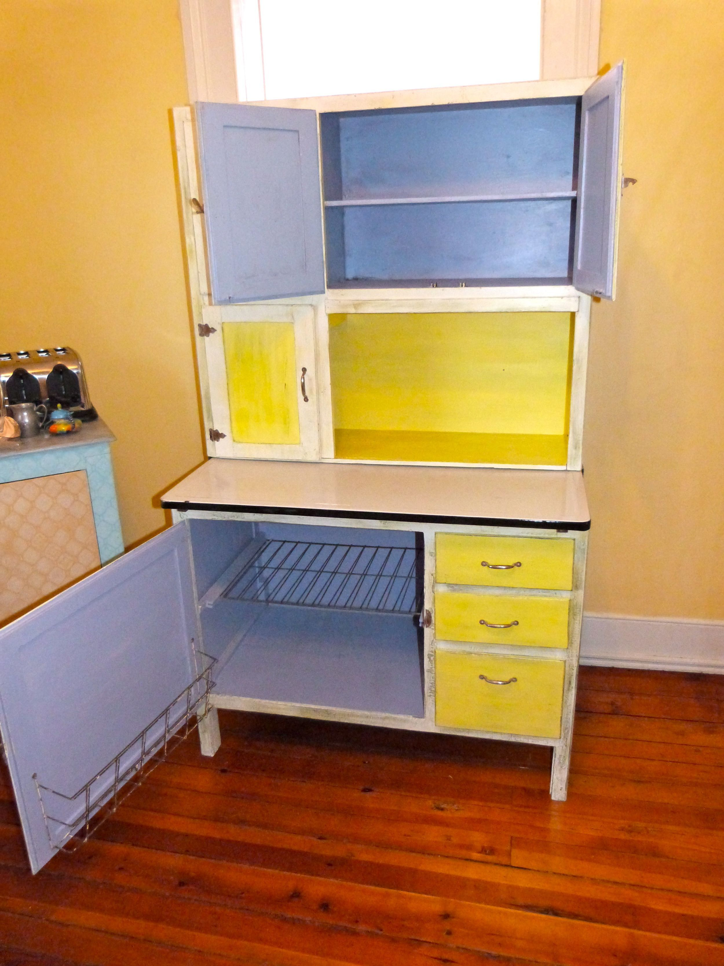 Antique Hoosier Cabinets for Sale | Hoosier Cabinet Dimensions ...