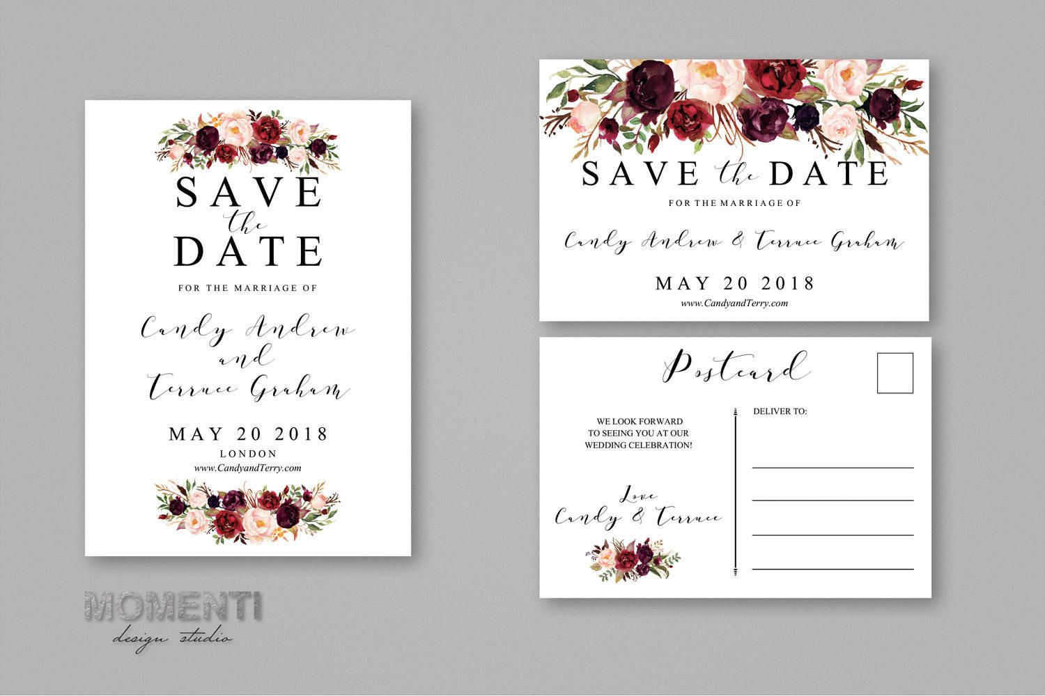 save the date template printable save the date postcard wedding