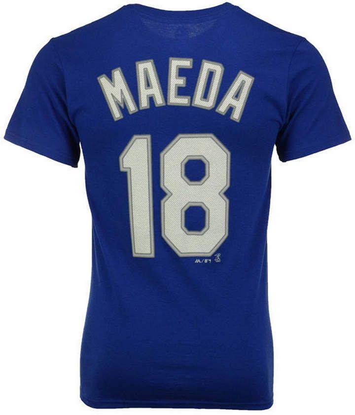 8fc2c714a Majestic Kenta Maeda Los Angeles Dodgers Official Player T-Shirt, Big Boys  (8-20)