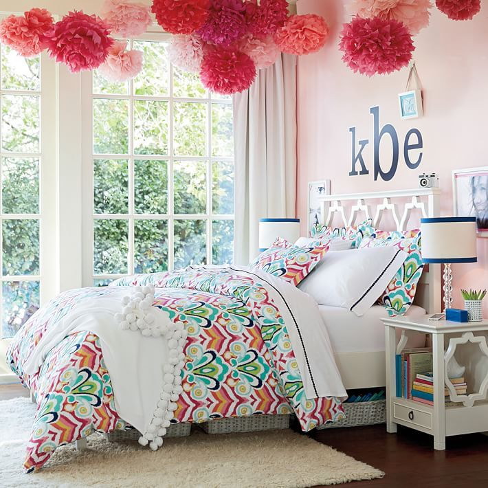 Youth Bedroom Ideas And Trends You Must Try: Portofino Duvet Cover + Sham