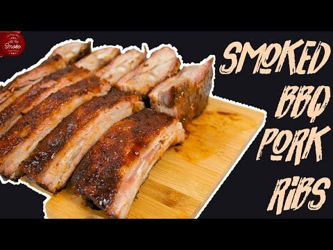 BBQ Smoked Spare Ribs | All The Smoke - YouTube