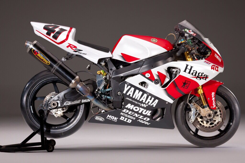 Yamaha R7 Noriyuki Haga With Images Super Bikes Racing