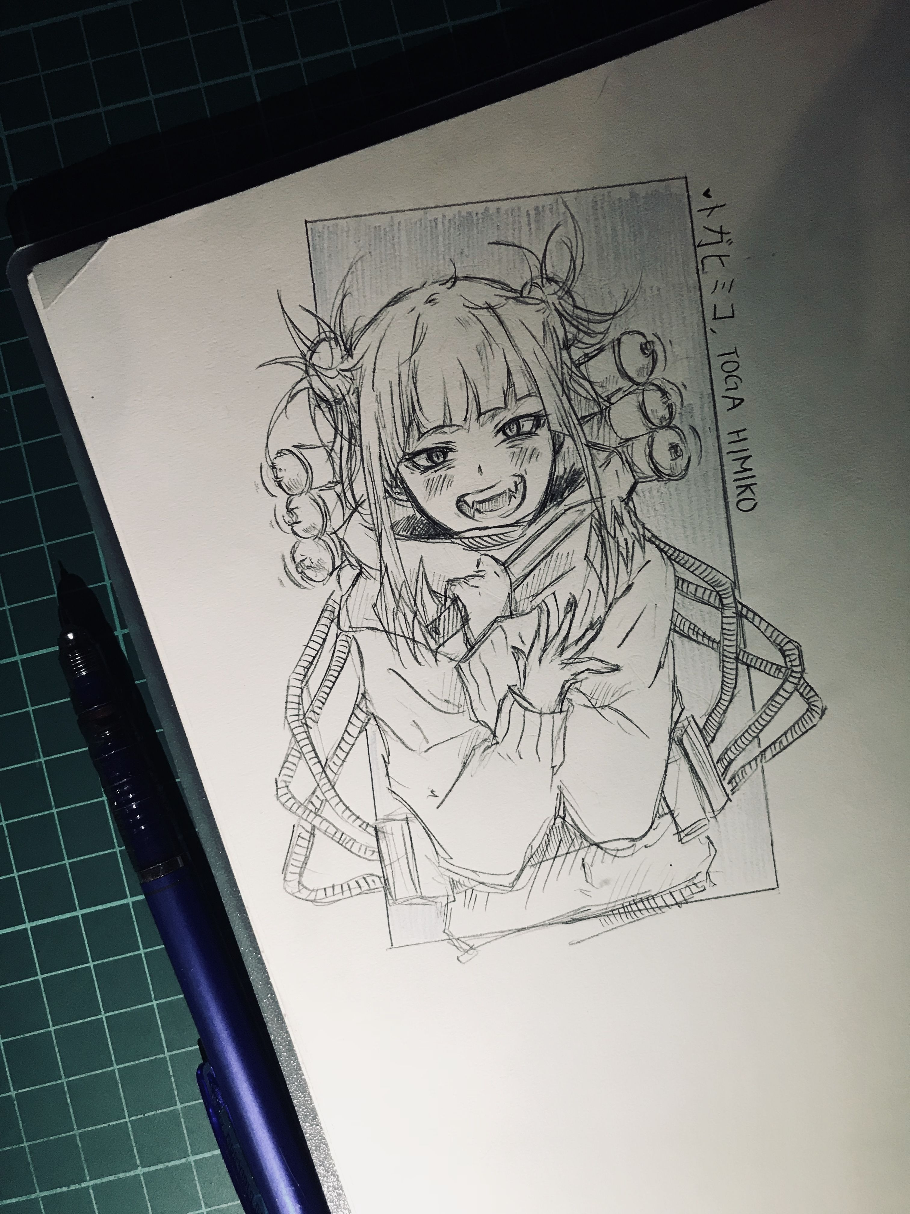 Himiko Toga From Boku No Hero Academia Dammit She S Cute Af