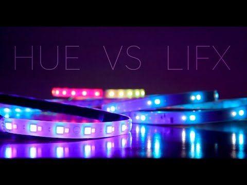 Philips Hue Light Strip Plus Vs Lifx Z Strip Youtube