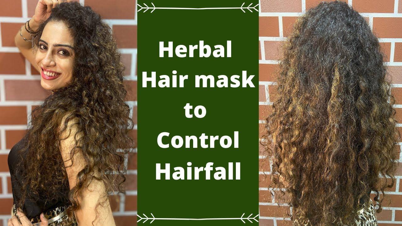 Hair Mask To Control Hairfall And Dandruff In Hindi Homemade Herbal Recipe Youtube In 2020 Herbal Hair Herbal Hair Oils Dandruff