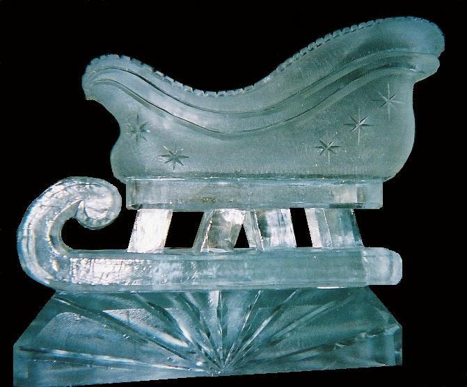ice sculptures | ice sculptures, sleigh ice sculpture, christmas ...
