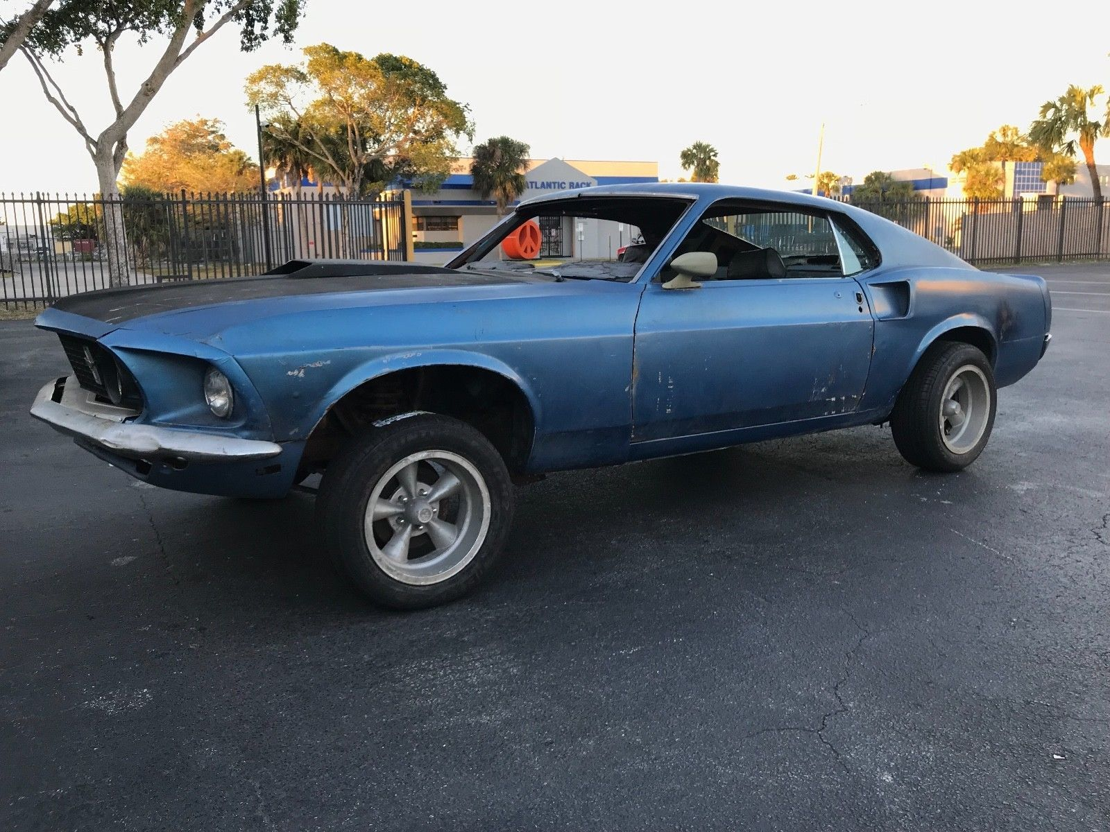 1969 Ford Mustang Us Salvage Autos Pinterest 2001 Fuel Filter Replacement Ebay Sports Roof Mach 1 Fastback Project 69 Carparts