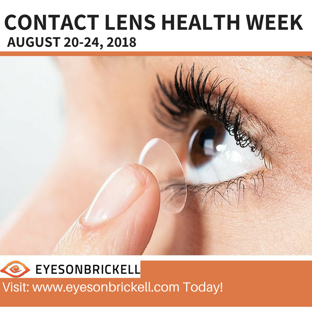 Contact Lens Health Week. August 2024, 2018, marks the