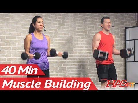40 min arm workout for women  men  arm workout bicep