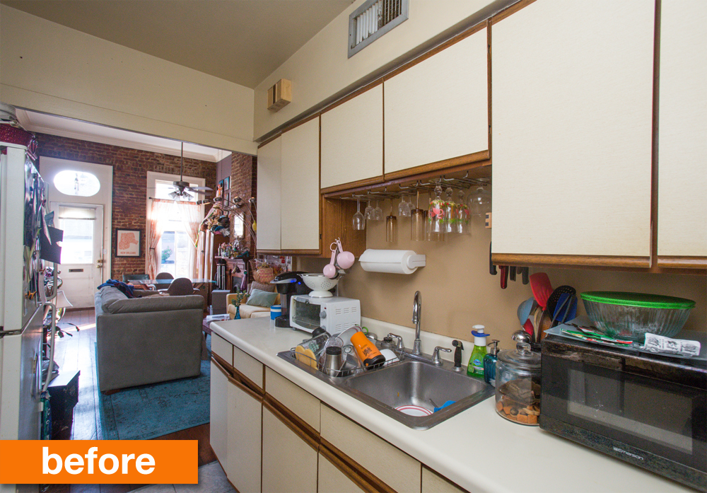 Best Before After Kerry's Colorful Quick Rental Kitchen 640 x 480