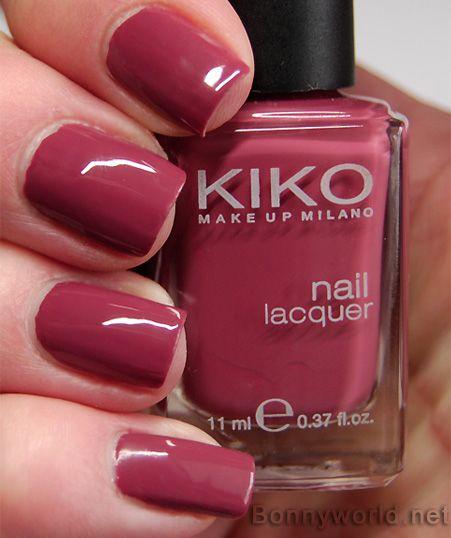 Kiko nagellack nr 365 via bonnyworld make up for Kiko 365 tattoo rose