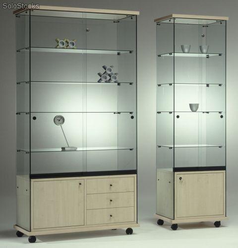 Vitrinas de vidrio barato proyectos que debo intentar - Imagenes de vitrinas de madera ...