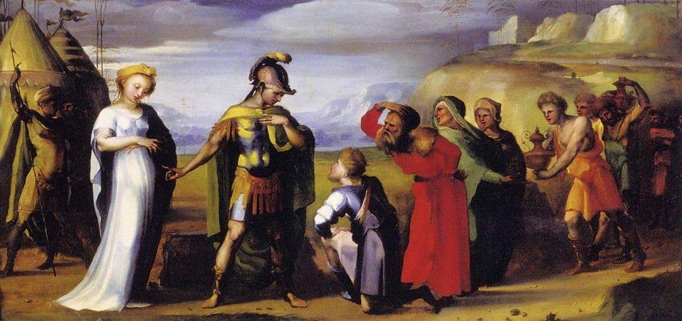 Continenza di Scipione (1525-1530 circa; Lucca, Pinacoteca di Palazzo Mansi)