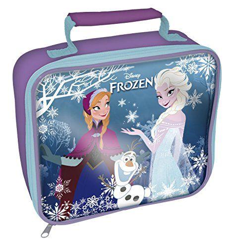 Frozen Rectangle Lunch Bag Purple @ niftywarehouse.com