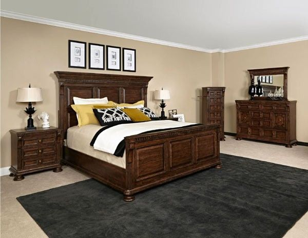 Broyhill Furniture Lyla 13 Piece Queen Panel Bedroom Set Bro 4912 256 257 450 13set Country Bedroom Furniture Broyhill Bedroom Furniture Bedroom Set