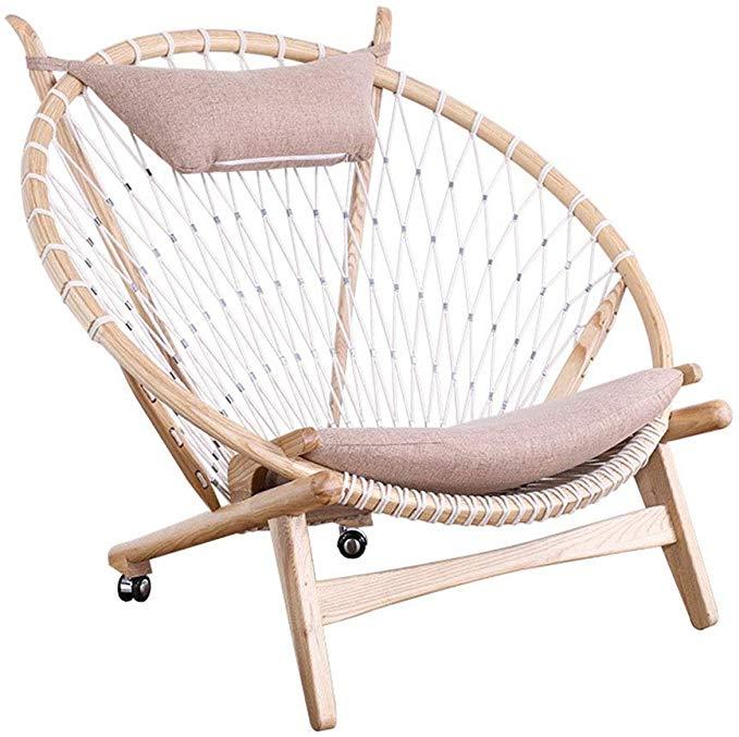 Best Amazon Com Limaomao Home Bedroom Arm Chair Handmade Lounge Papasan Chair With Fabric Chair 400 x 300