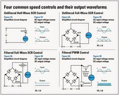 electrical engineering world four common dc motor speed controls rh pinterest com