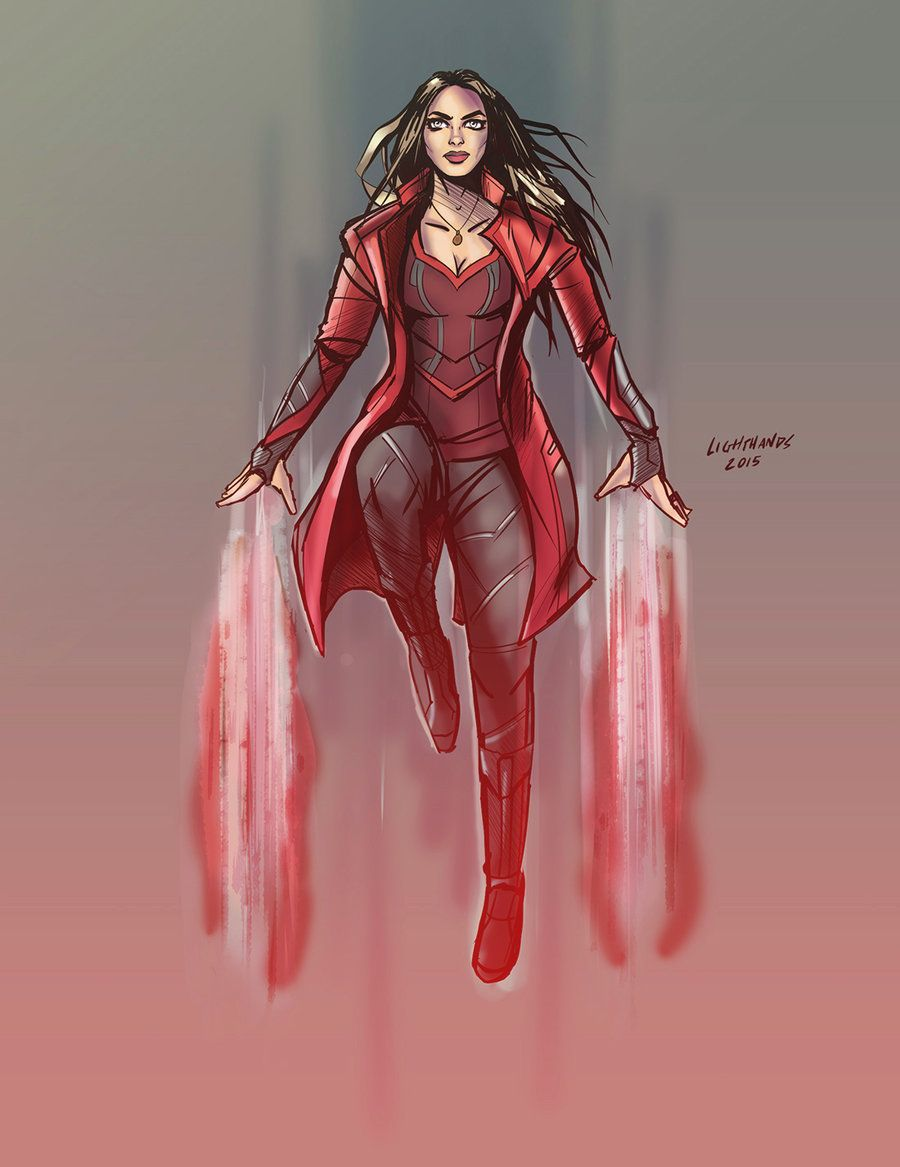 scarlet witch and vision fan art - Buscar con Google | Scarlet ...