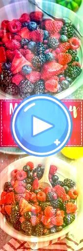 Berry Fruit Salad  a healthy snack or dessert with a refreshing lemon a Mixed Berry Fruit Salad  a healthy snack or dessert with a refreshing lemon a Mixed Berry Fruit Sa...