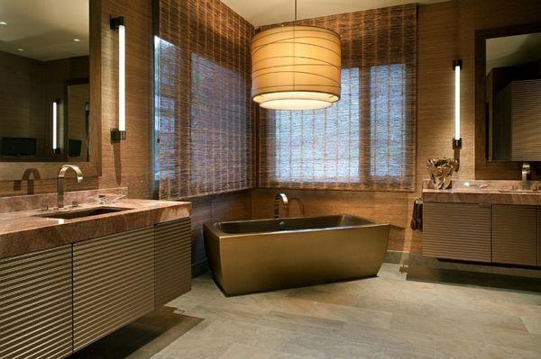 Große Pendelleuchten Im Esszimmer U2013 Moderne Hängelampen   Badezimmer  Hängelampe Lampenschirm Badewanne