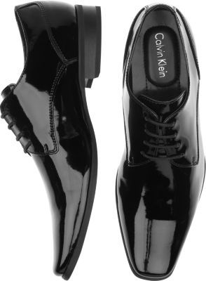 a62ca3b0fc8 Calvin Klein Brodie Black Tuxedo Shoes