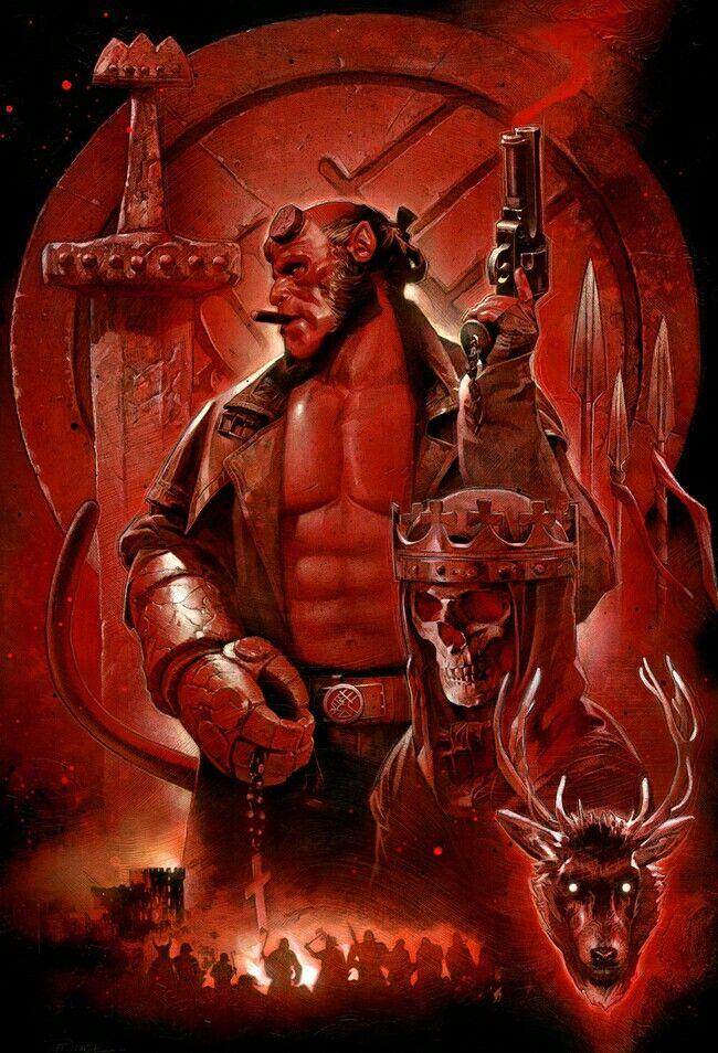 Hellboy | Modern Pantheons | Pinterest | Modern
