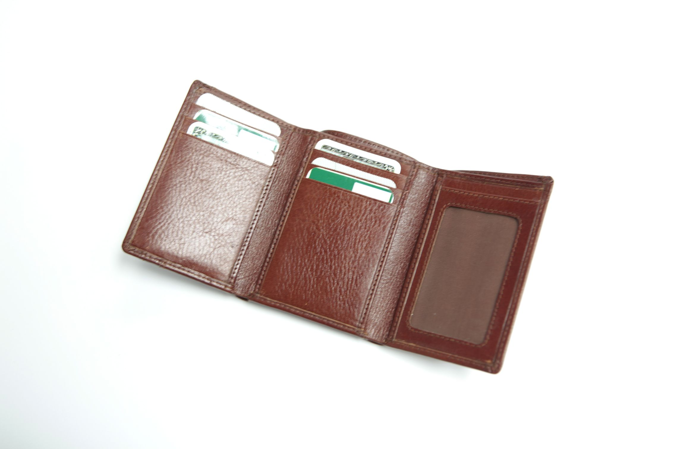 #LEATHER WALLET - The Albury Tan Leather Wallet