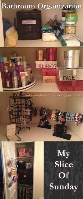 Small Apartment Small Bathroom Closet Organization Tips & Tricks ...