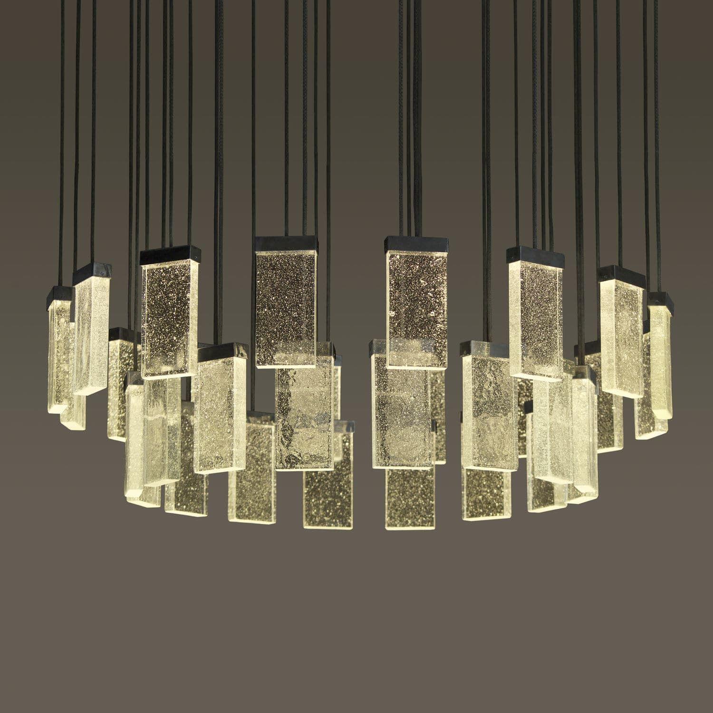 Contemporary chandelier 32 GRAND CRU MASSIFCENTRAL