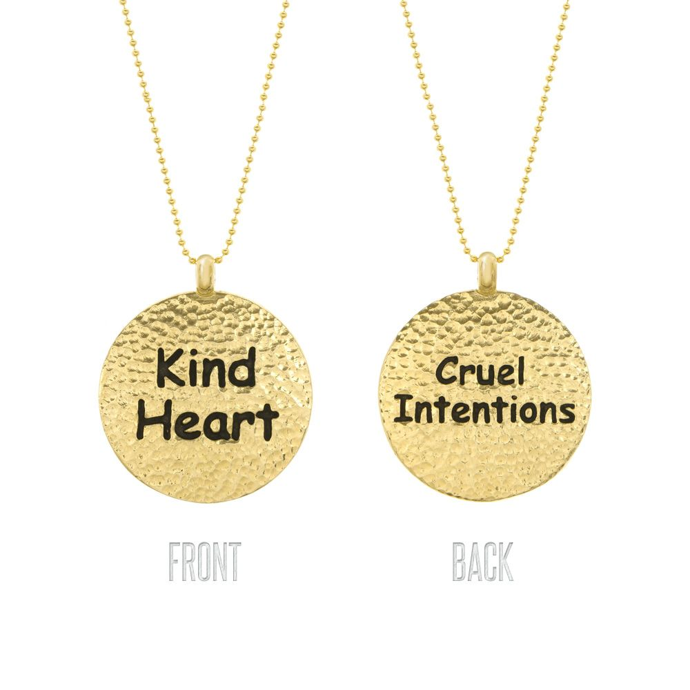 Shameless Kind Hearted/Cruel Intentions  from LittleBlackBag.com