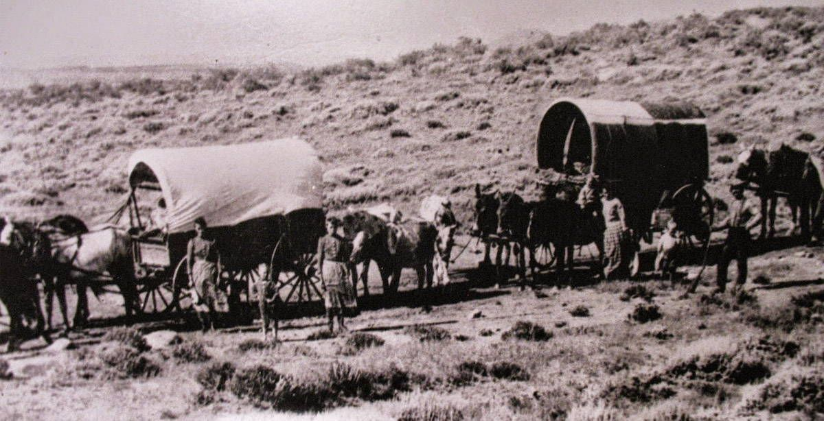 The Wagon Learn about Covered Wagons used on the Oregon