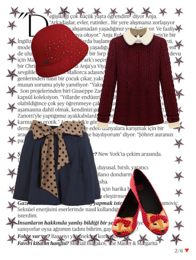"""""""Foxes and woods"""" by kennystylesd on Polyvore featuring moda, Balmain, T.U.K., Miss Selfridge, Betmar, women's clothing, women, female, woman e misses"""