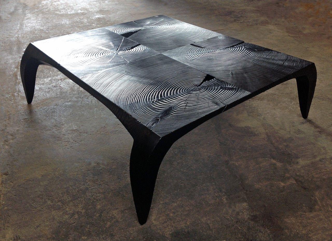 Log Furniture · Timber, Char: Stefan Bishop
