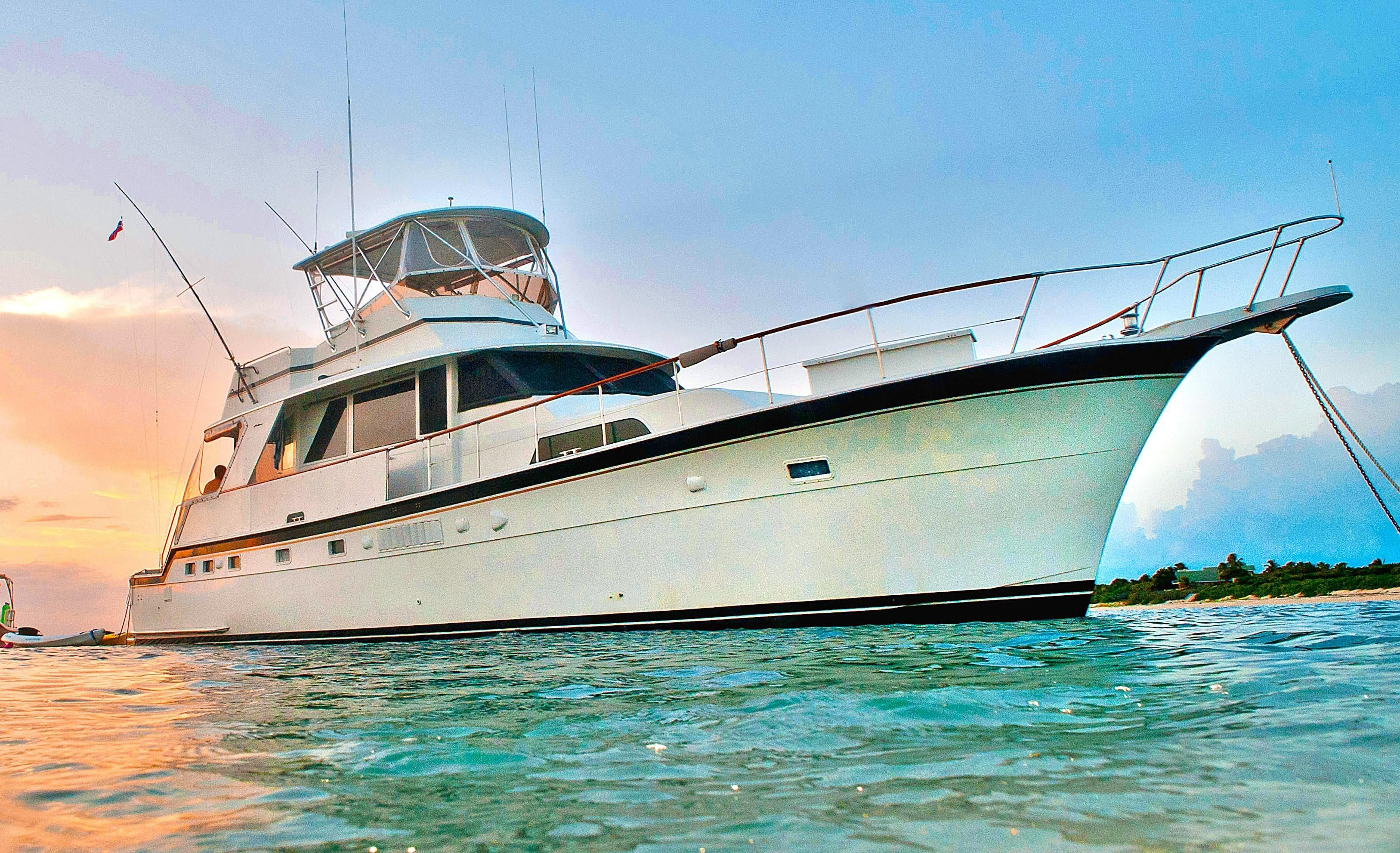1975 Hatteras Yacht Fisherman Power boat for sale, located