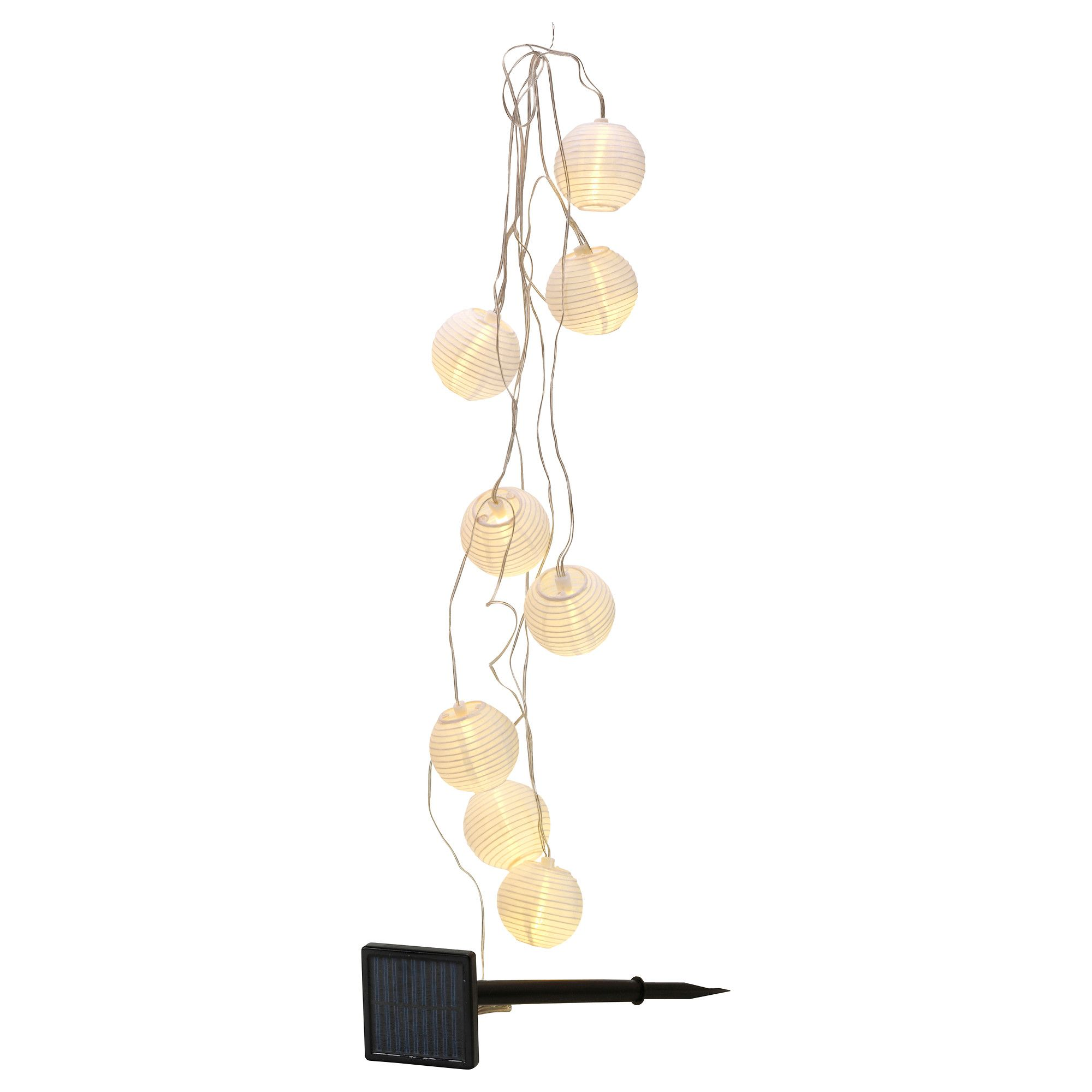 decorative solvinden solar powered light chain 8 ikea summer rooms pinterest solar. Black Bedroom Furniture Sets. Home Design Ideas